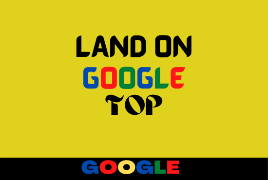 Land on Google First Page V3.0 Monthly Off page SEO Service with Backlinks