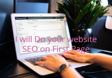 I will do your website SEO on First Page