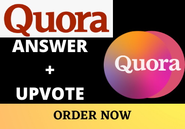I will Promote your 5 Quora Answers with 10+ Upvotes from USA Genuine Users