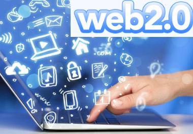 I will do 20 high authority web 2.0 backlinks