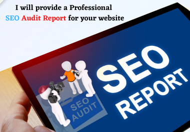 I will provide a Professional SEO audit report for your website