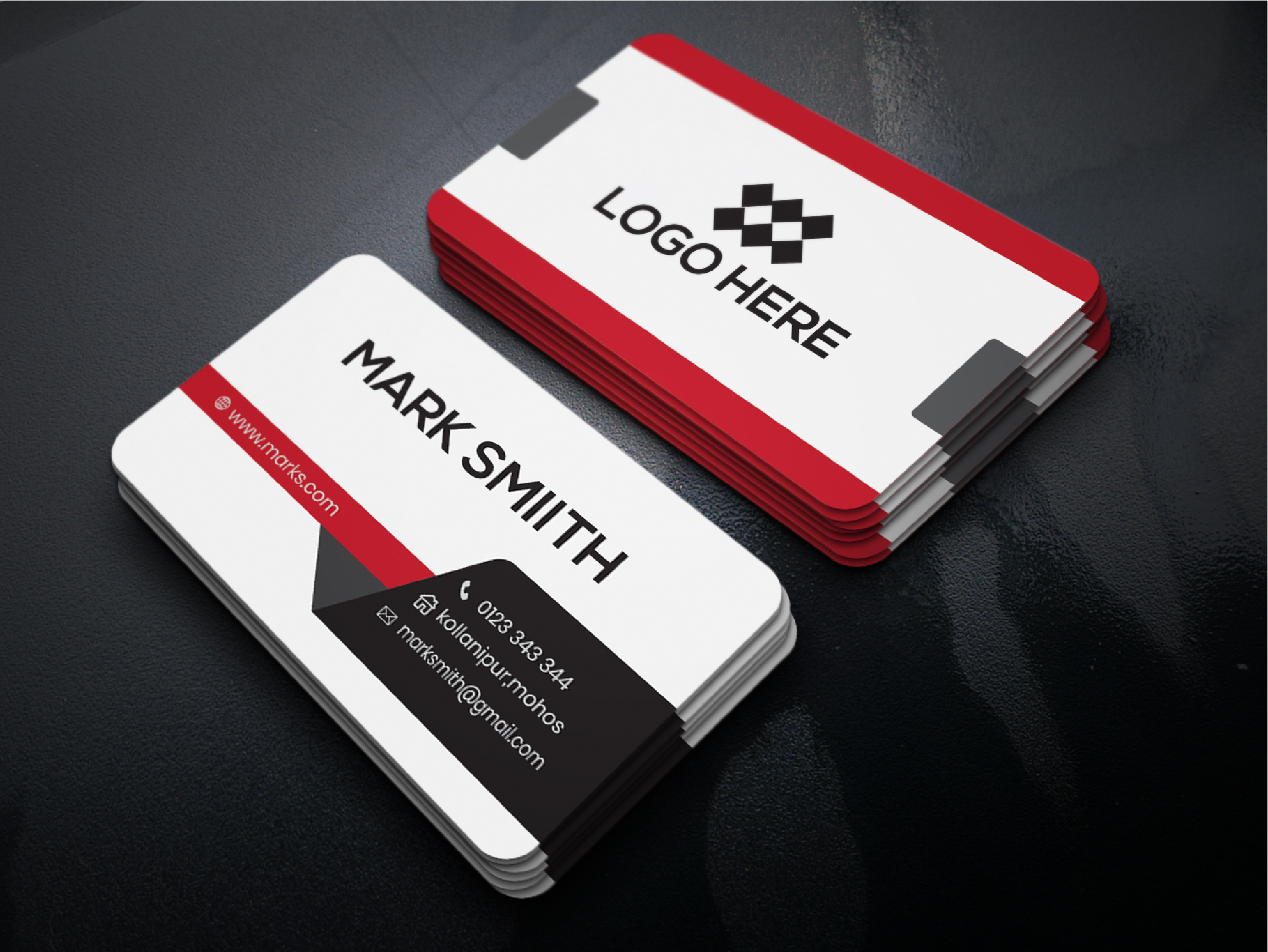 I will create a professional modern, elegant, unique, business card.