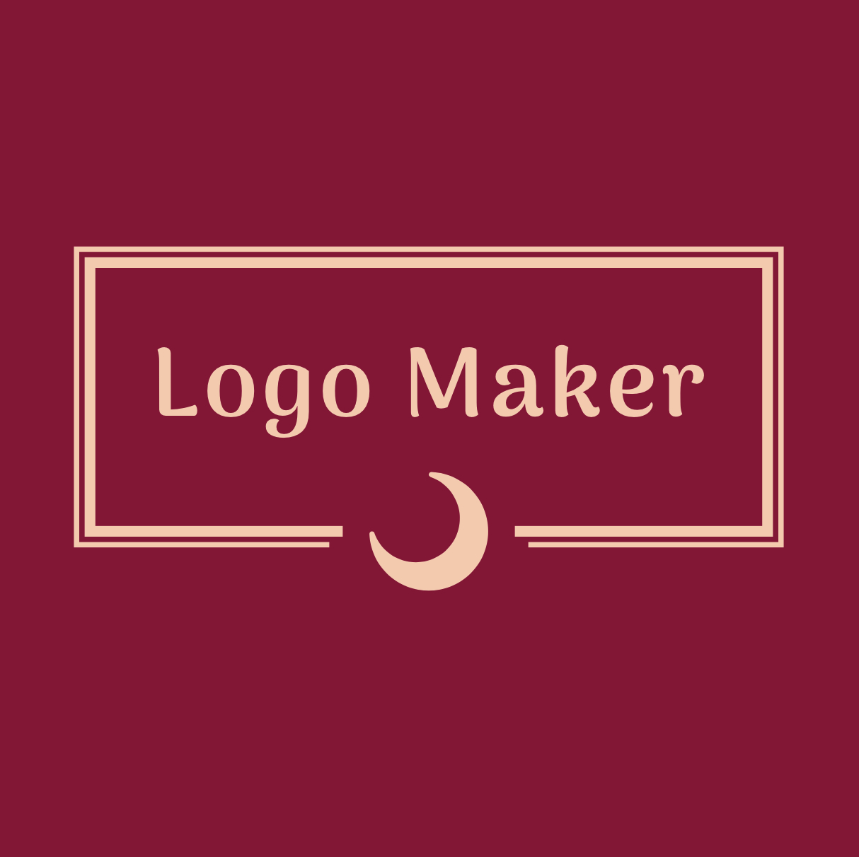 I will create you a logo and I will ve very happy when you want some