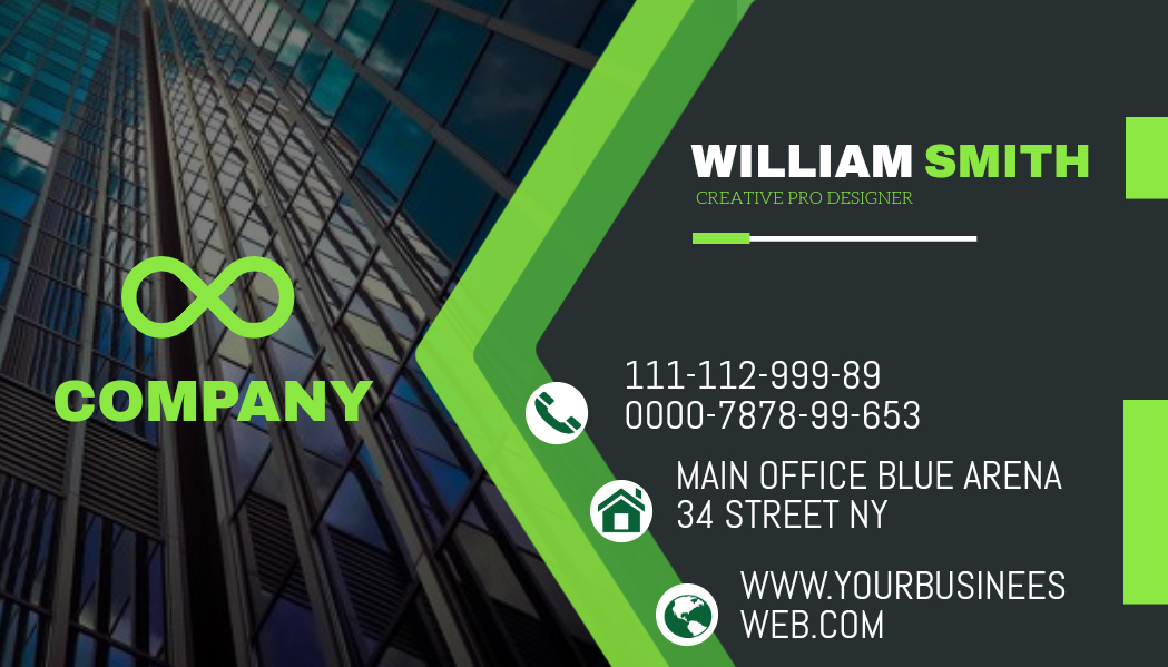 I will create your professional business card