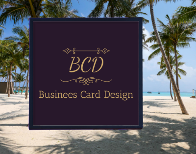 I am a Graphics Designer. I can design Business Card Design