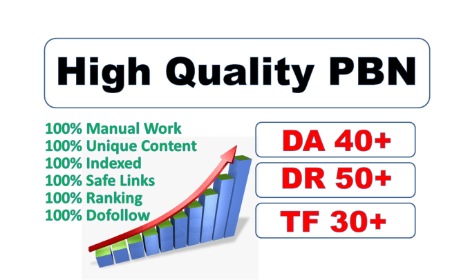 I will do post 10 high quality pbn links with high DR,  da pa,  tf cf