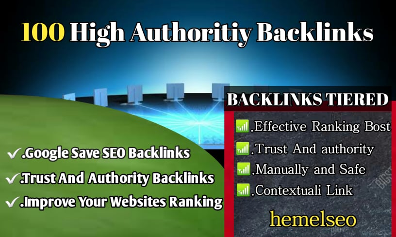 I will do create 100 profile backlinks for your website rank