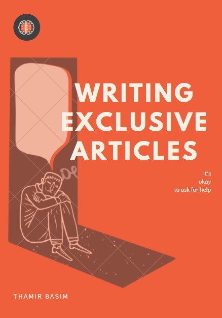 Writing exclusive articles for any topic you want .
