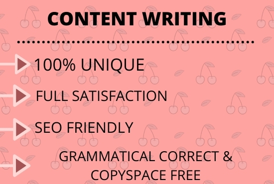 I will write 1500 words SEO optimized content for your blog