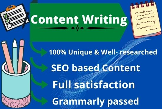 I'll write and rewrite SEO friendly Content and Articles.