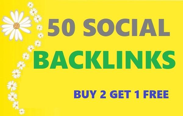 create 40 Social Network SEO Backlinks
