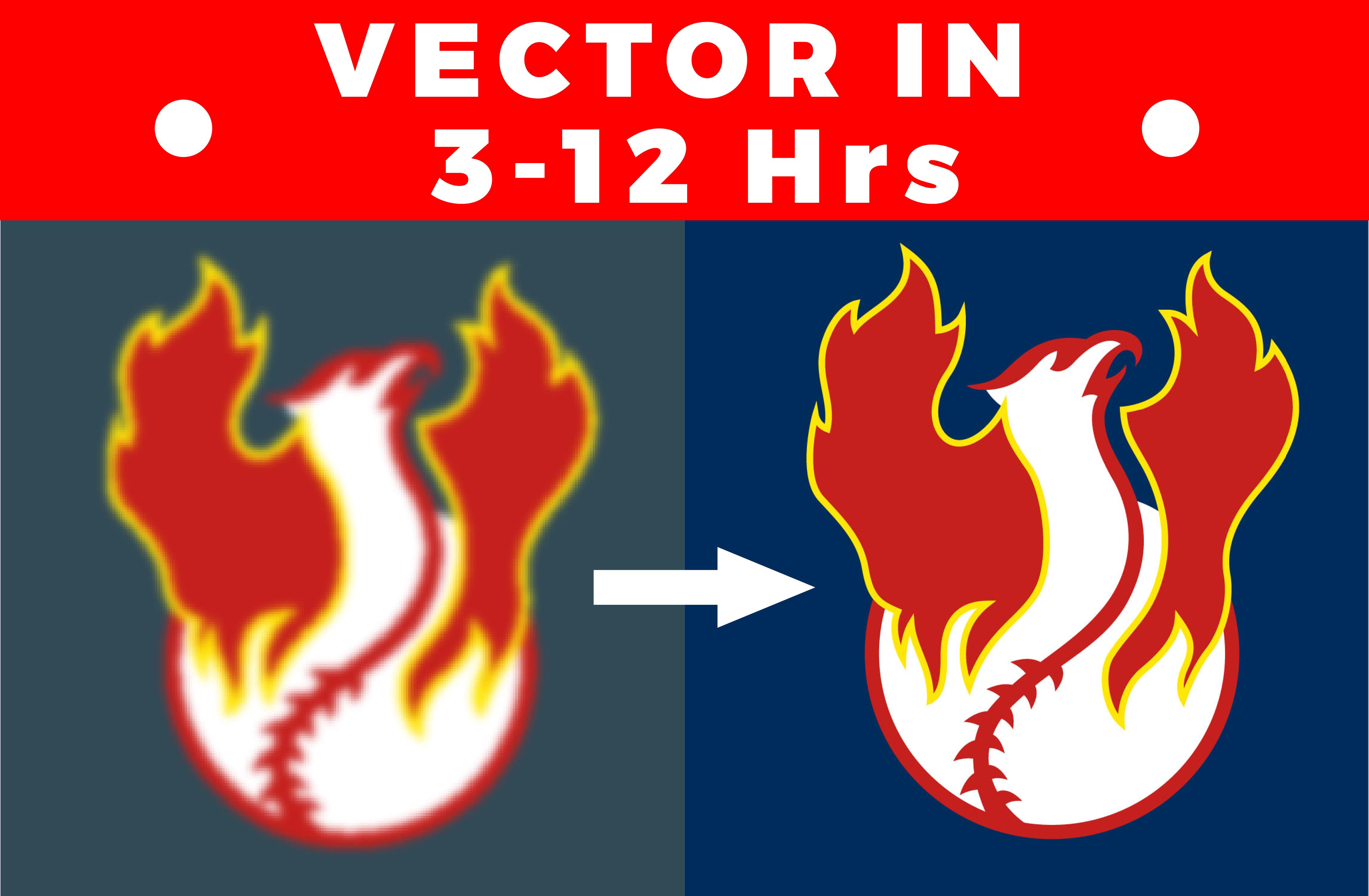 I will manually vectorize, trace any logo,image to vector