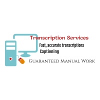 Your personal transcriptionist and Captioner with all services done manually
