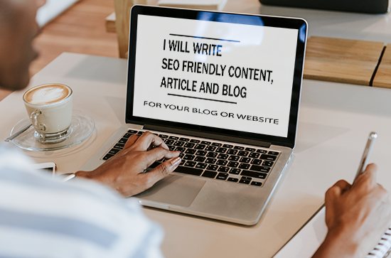 I will write 1500 unique SEO friendly content,  article and blog writing for you or your business
