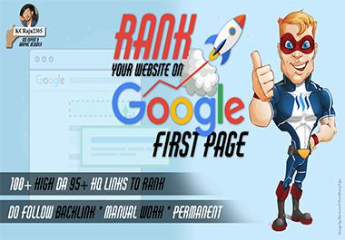 Lift Up Your Site LlKE a Rocket 100+ High DA 90+ HQ Links to RANK