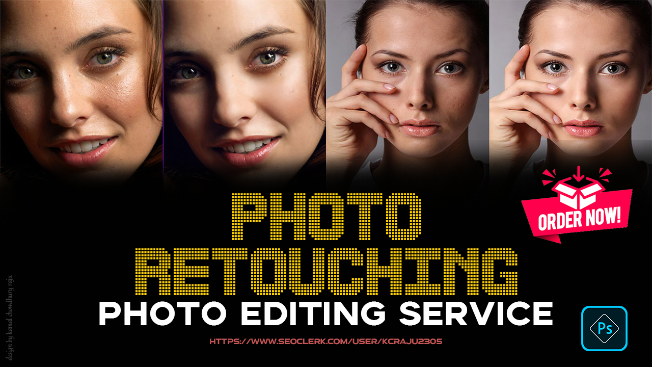 I will do any Photoshop Edit and Retouching within a Short Time