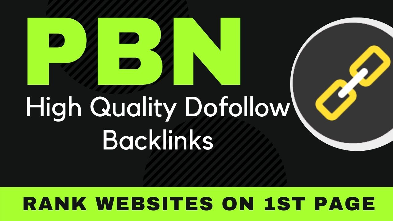 Build 60 High Quality PA DA TF CF live PBN dofollow backlinks,  link building