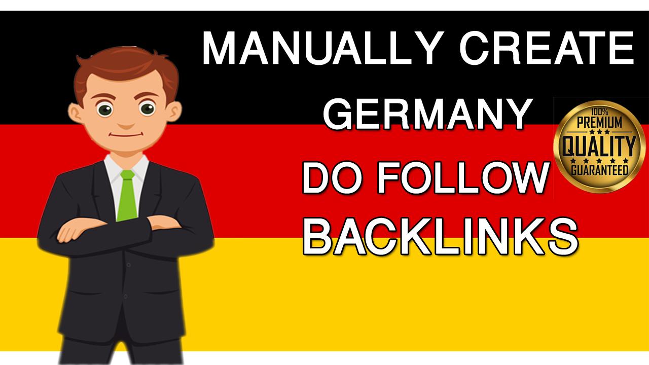 I will do you 20 dofollow forum backlinks. de Germany