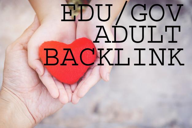 Create adult websites manual 100+ EDU/GOV Profile Backlinks