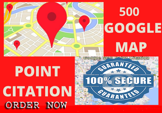 Do 500 google map citations and map pins for local SEO