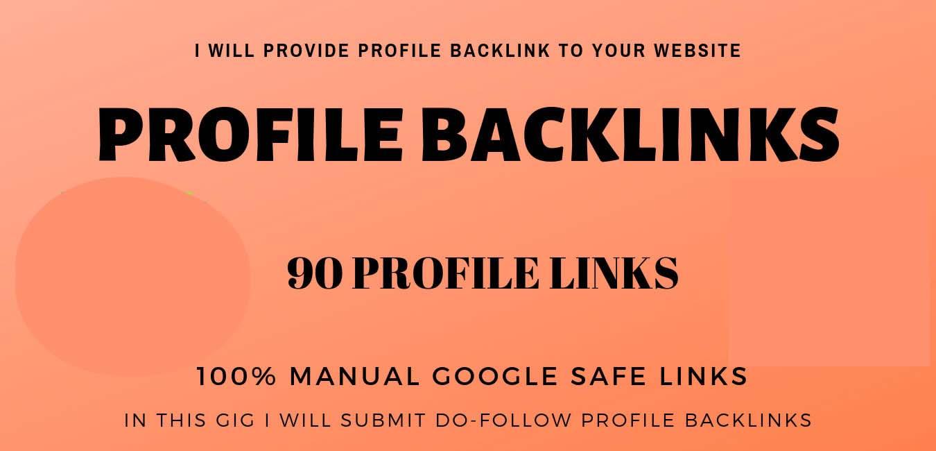 do high quality dofollow profile backlinks