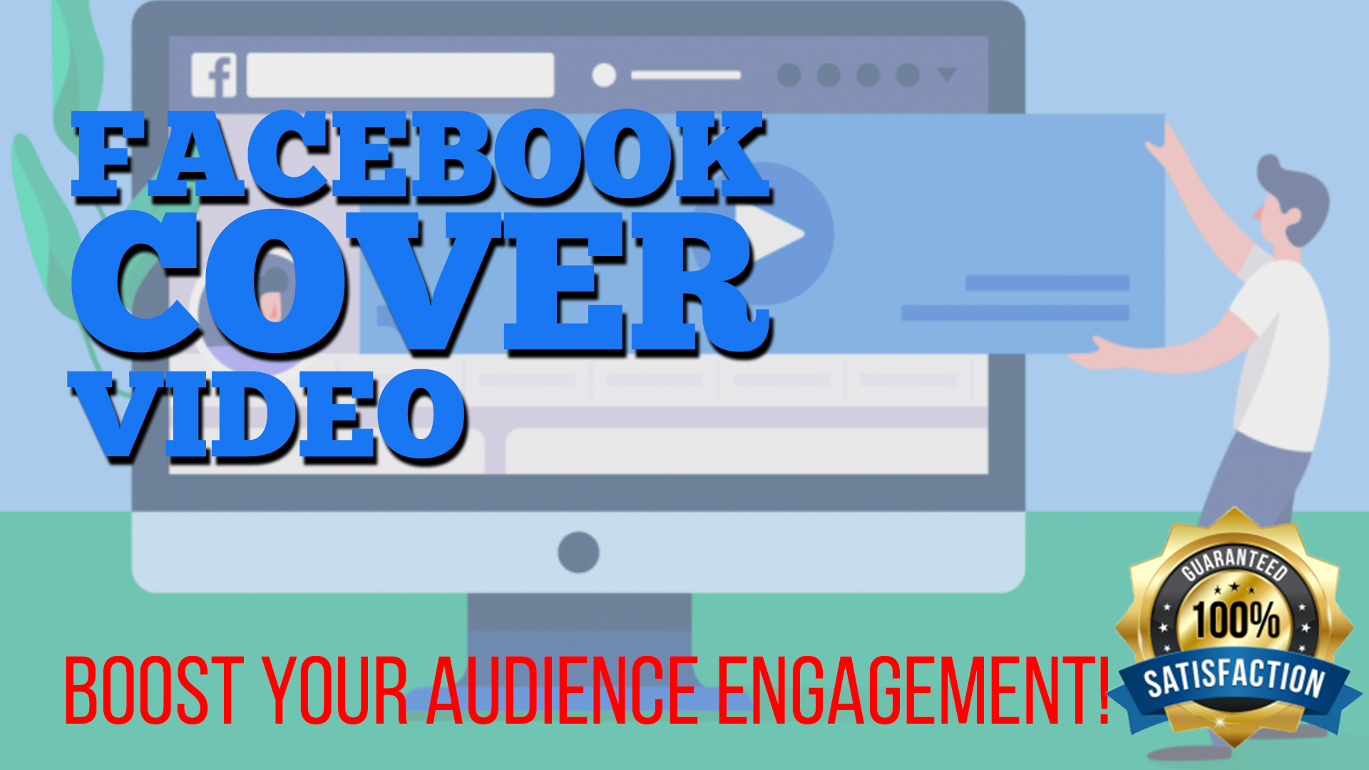 Create awesome FACEBOOK COVER VIDEO for you