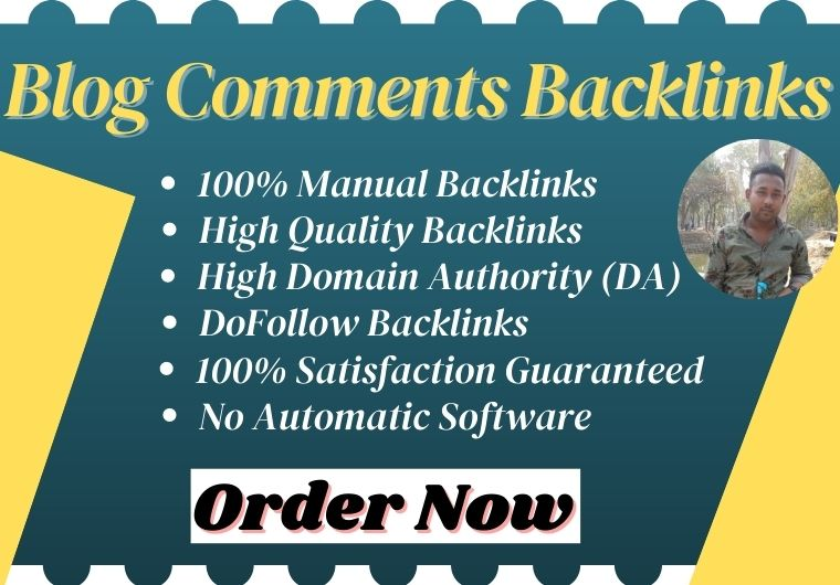 I will give you 30 Blog Comments High Quality Dofollow Blog post