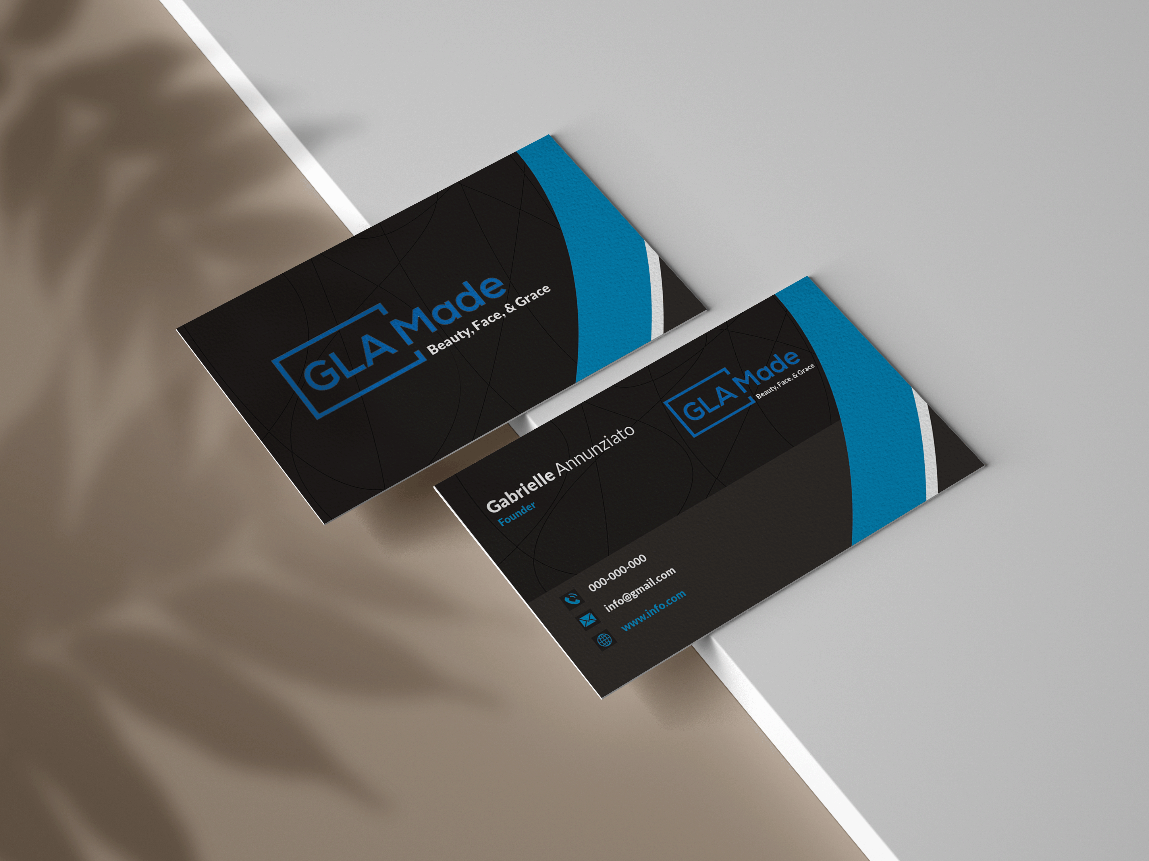 I will do business card 2 image