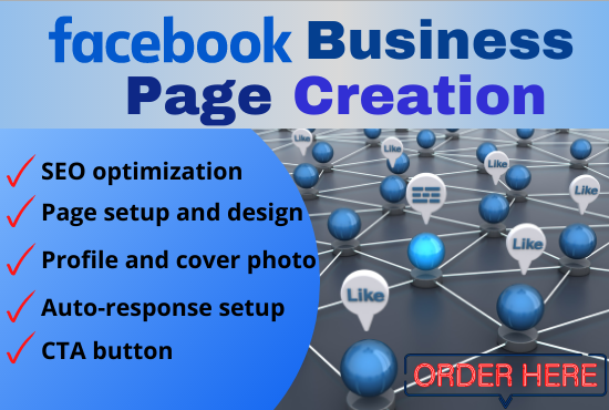 I will do Facebook Business page creation,  setup and optimization