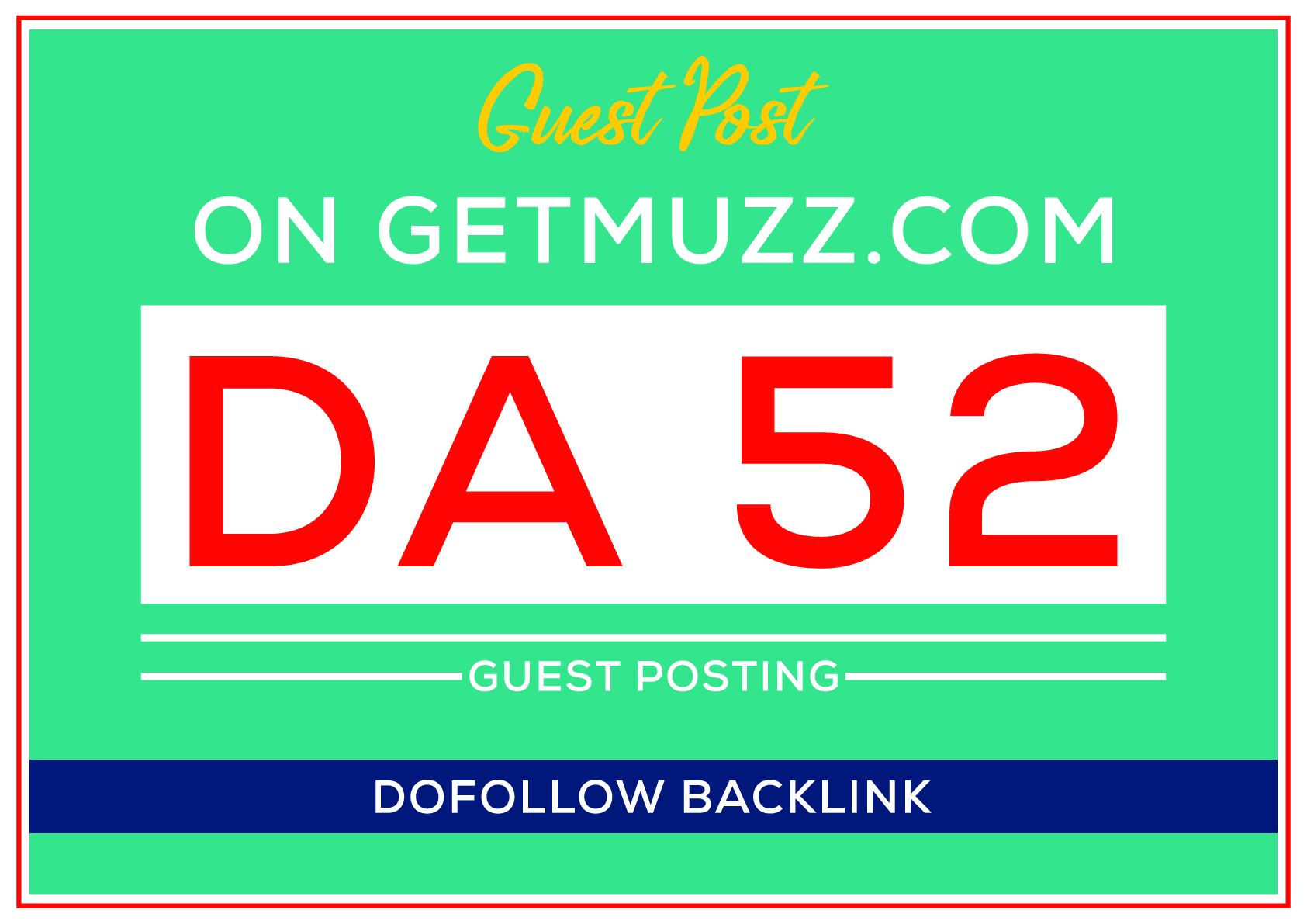 I will Publish Guest Post on my DA 50+ site wit dofollow backlinks