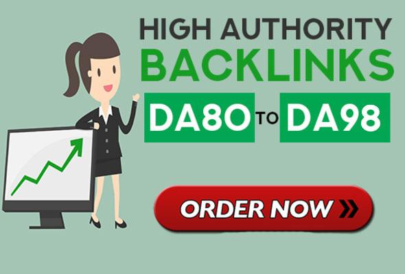 I will DO make high authority quality SEO dofollow backlinks