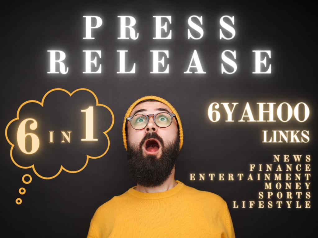 Press release on yahoo news