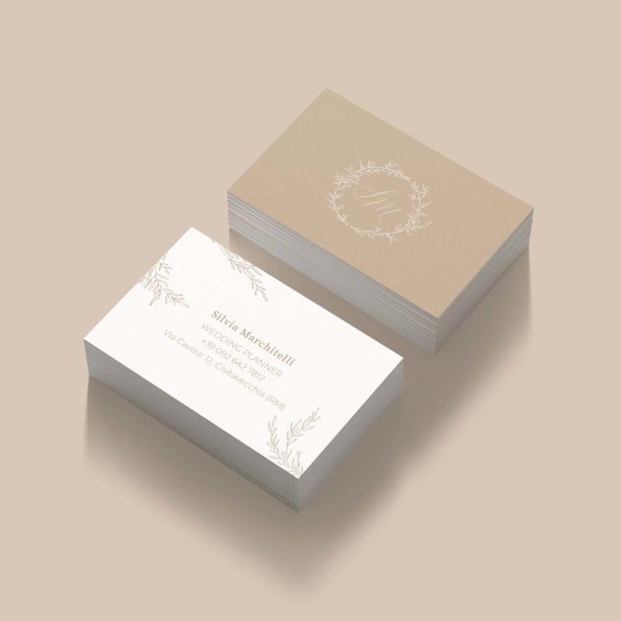 I will create an eyecatching business card for your activity
