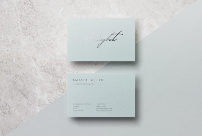 I will do professional modern business card design for you