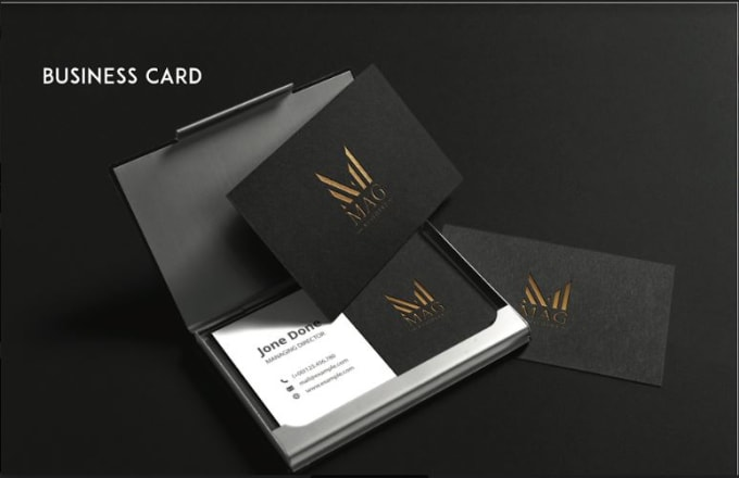 I will design unique and professional business cards
