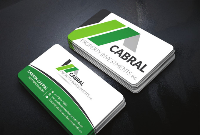 I will do luxury business card design for you