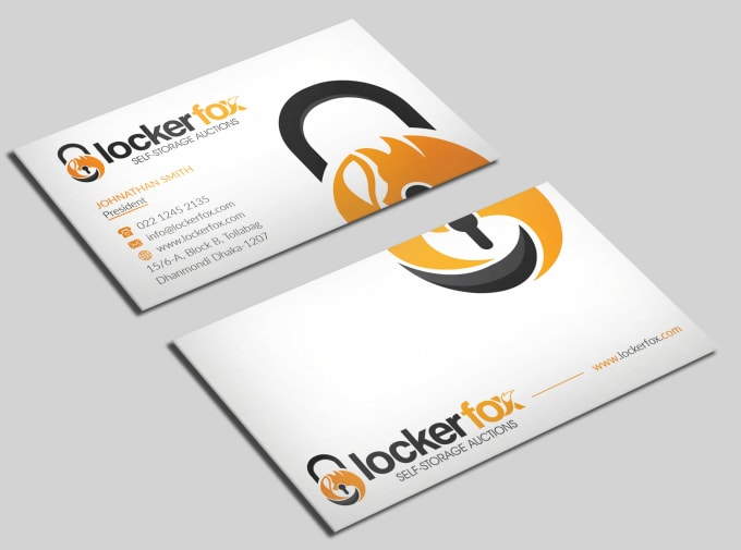 I will do a professional business card design
