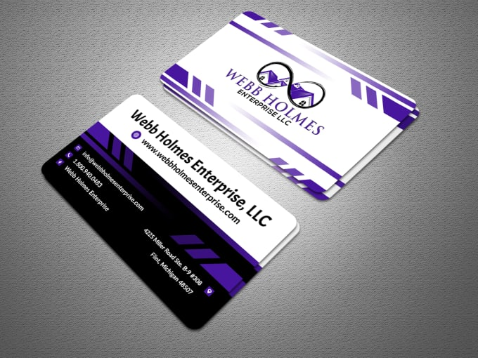 I will do professional business card design just for you