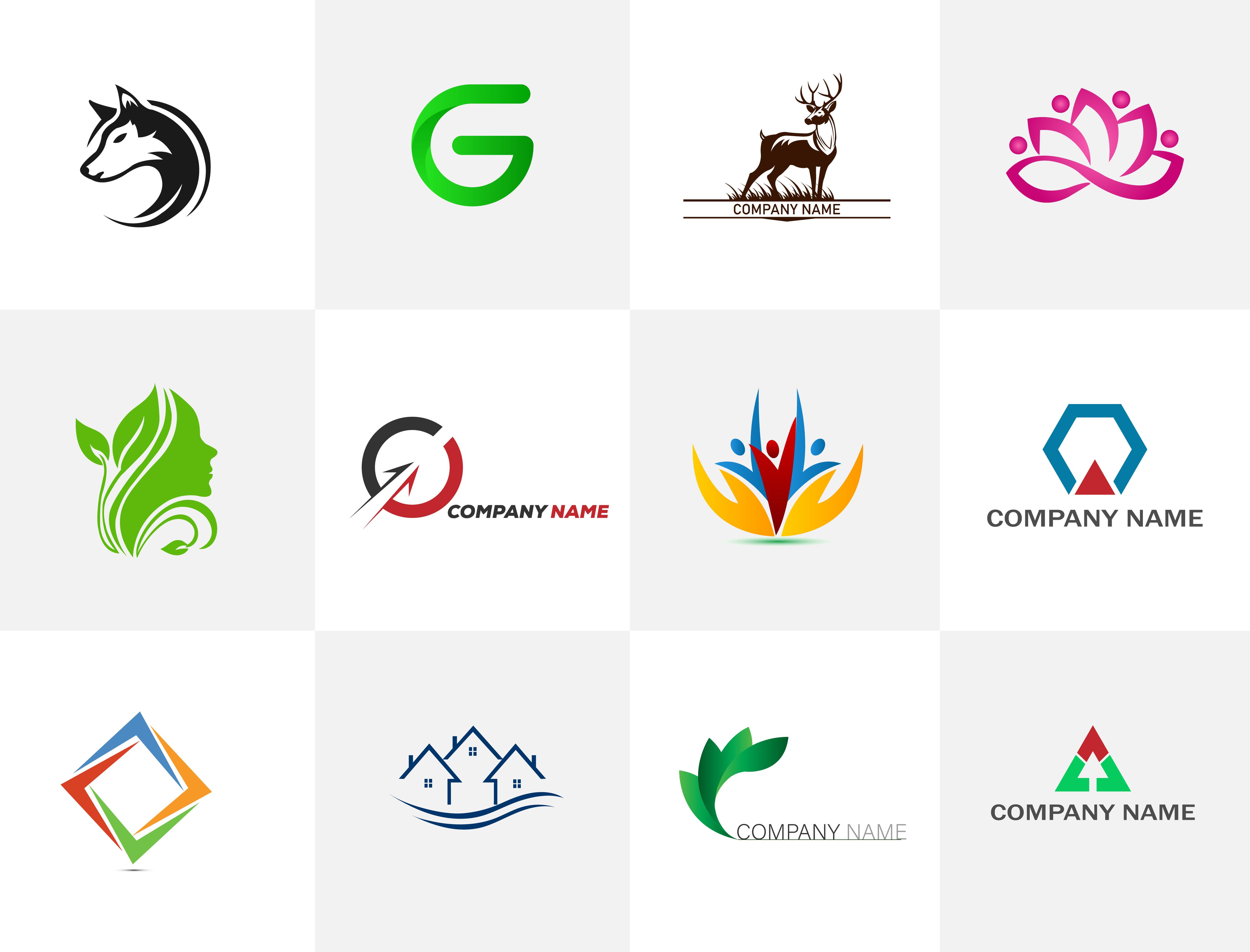 I will design minimalist modern business logo design