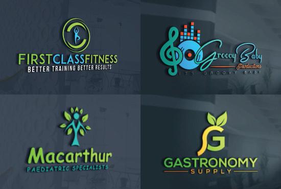 design modern professional unique business logo