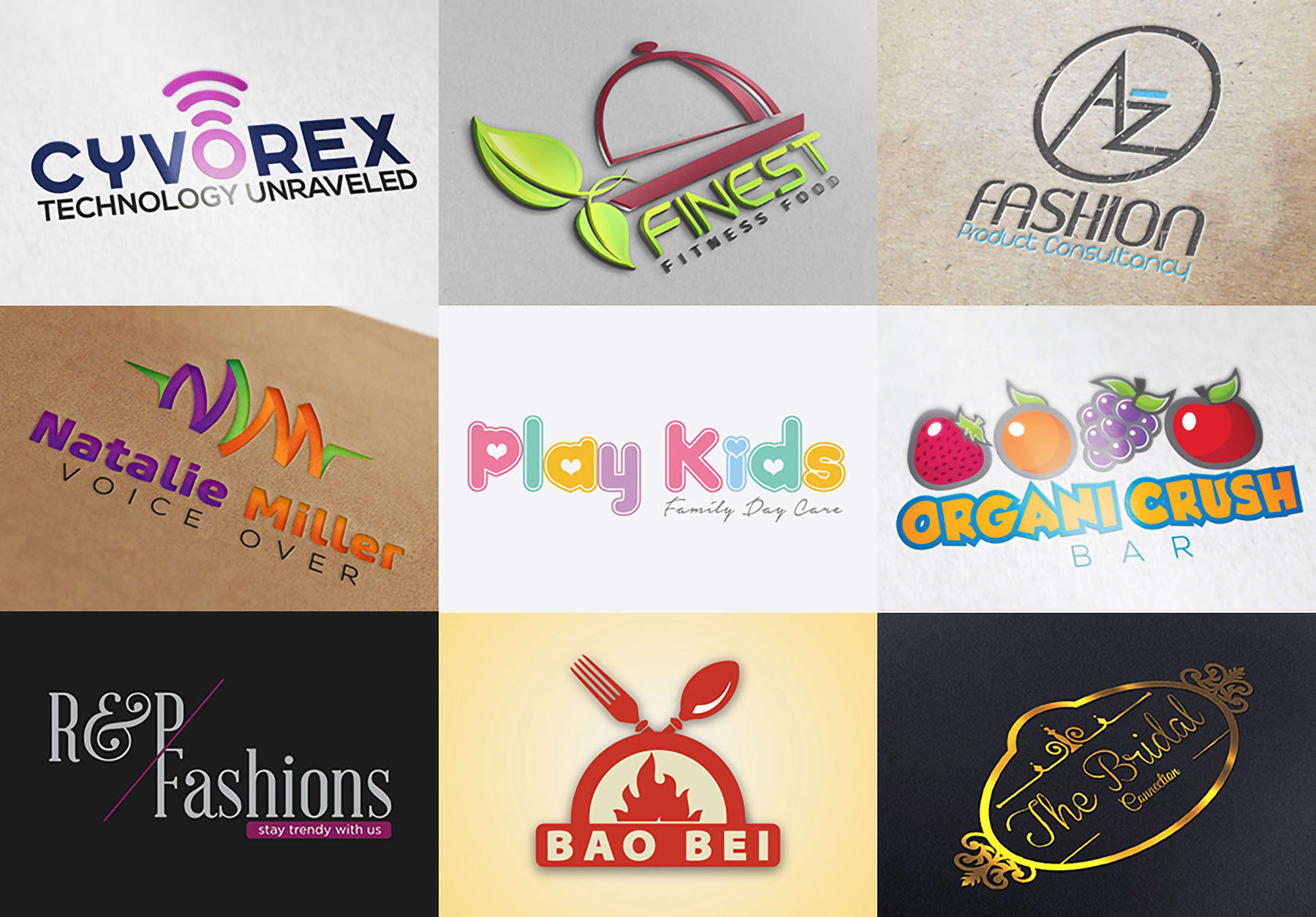 design any logo and logo redesign for your business in 6hours