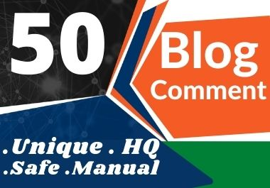 Manually Create 50 Blog Comments Backlinks SEO Service On High DA PA Website Ranking