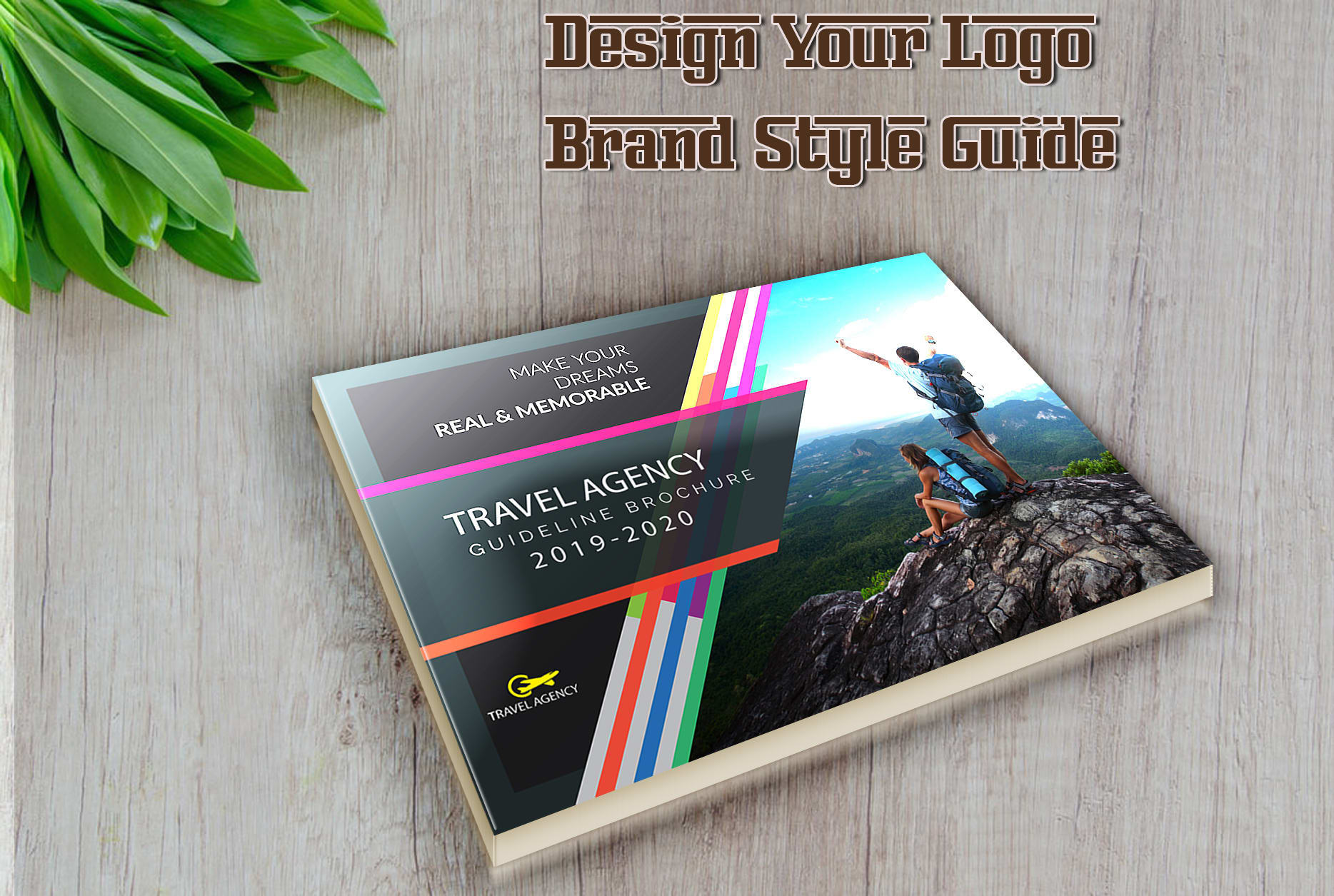 I will design your logo and brand style guide quickly - Basic