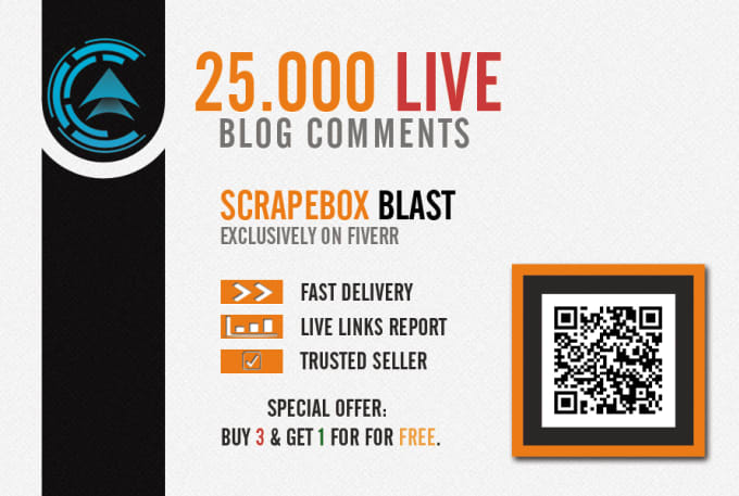 I will make 25000 live blog comments with scrapebox,  get huge link juice