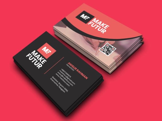 I will do unique business card design for you