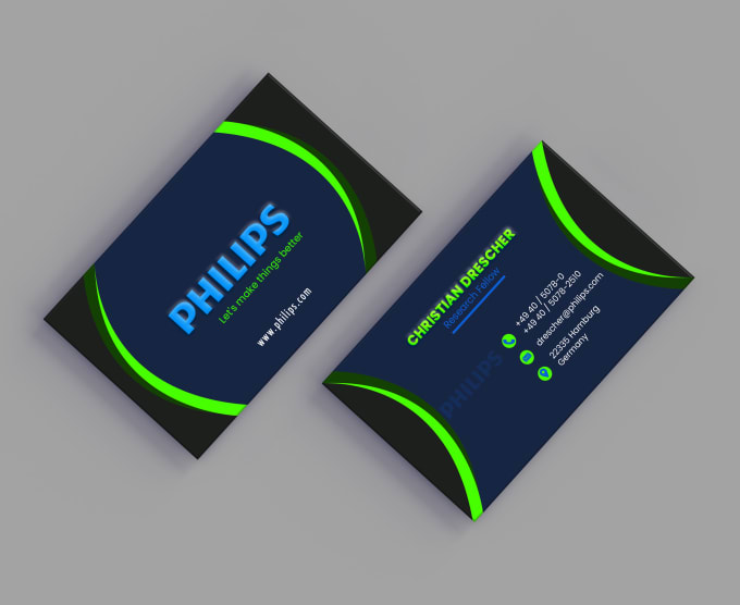 I will design luxury business card for you