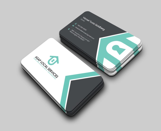 I will design unique and logical business cards