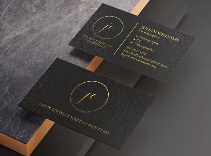 I will design premium quality business card, name card, visiting card