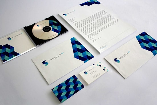 I will design logo,  business cards,  envelop,  folder