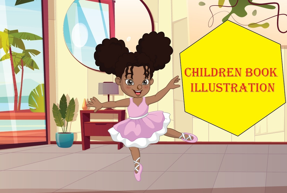 I will childrens book illustration or illustrations